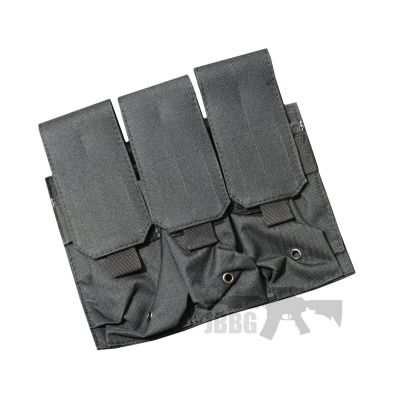 Rifle 3 Mag Pouch black