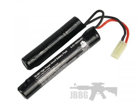 8.4V 1600 Bulldog Airsoft Crane Battery