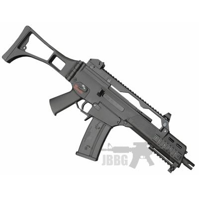 src g36 black airsoft rifle