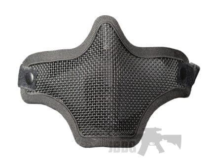 Lower Mesh Mask black