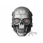 full skull mask silver 2