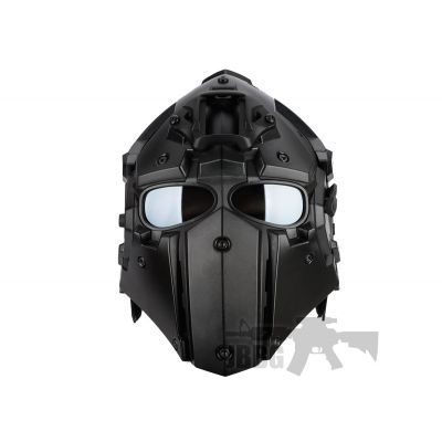 Airsoft Tactical Helmet with NVG Shroud and Transfer Base