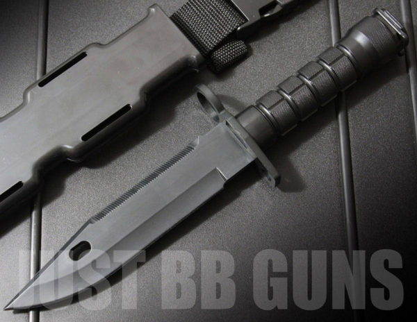 AIRSOFT RUBBER BAYONET KNIFE