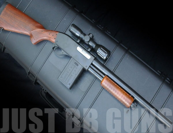 BISON 401 LARGE PUMP SHOTGUN