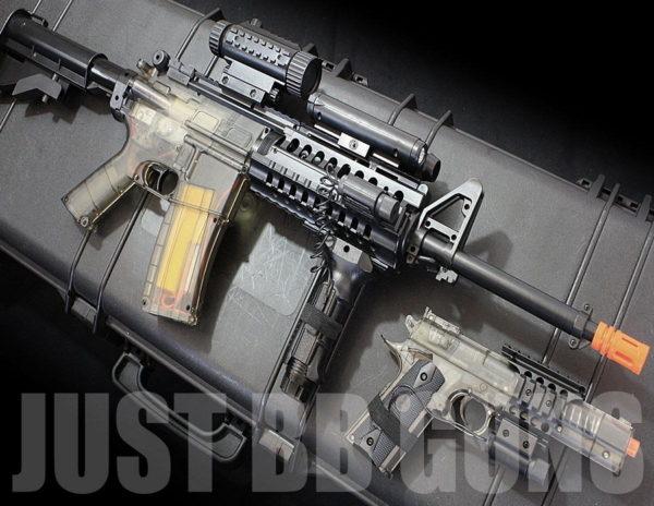 COLT M4 RIS KIT AIRSOFT SET