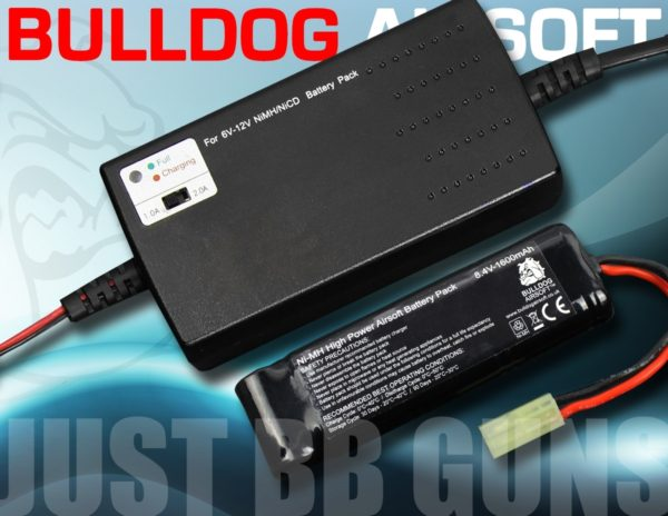 8.4V BLOCK BATTERY AND CHARGER BUNDLE