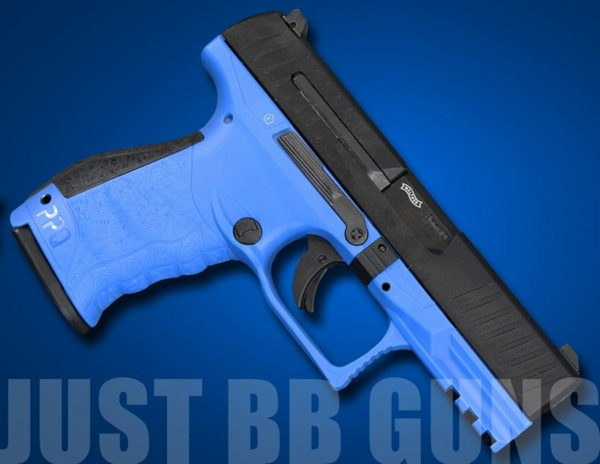 WALTHER PPQ BLUE AIRSOFT PISTOL