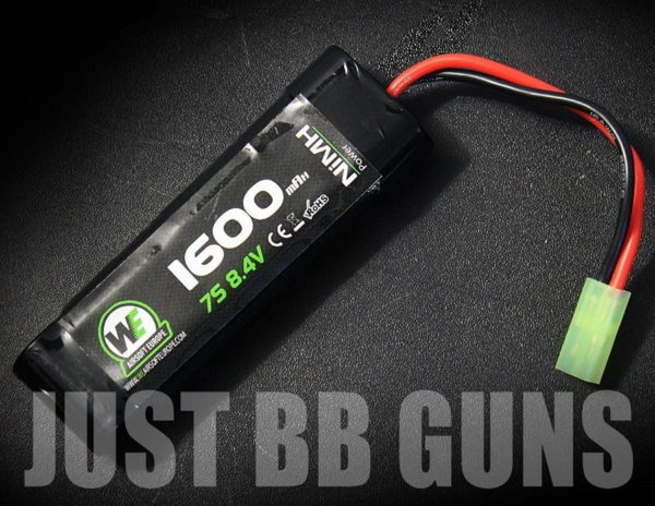 WE 1600MAH 8.4V AIRSOFT BATTERY