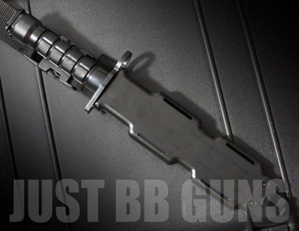 AIRSOFT RUBBER BAYONET KNIFE 4