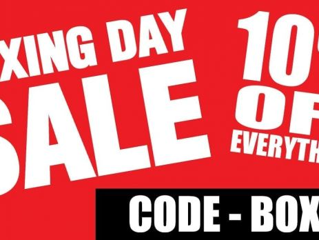BOXING DAY 10% OFF SALE!