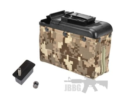 P252P-D Box Mag For M249 AOR1