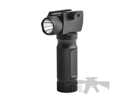 TX LED Flashlight Gun Grip