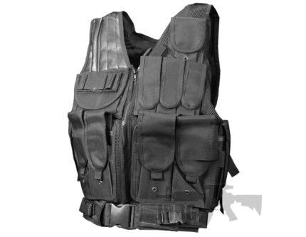 V018 Black Vest