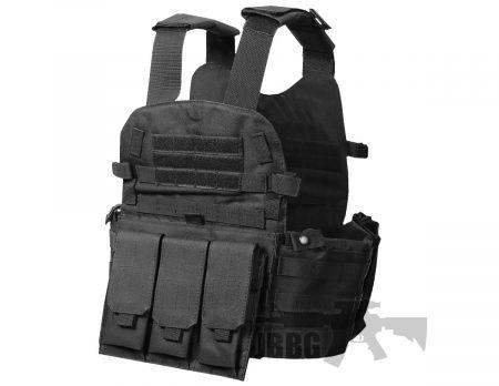 V033 Black Vest