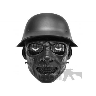 army zombie airsoft mask black