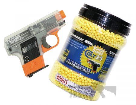 10K BB with Colt 25 Pistol