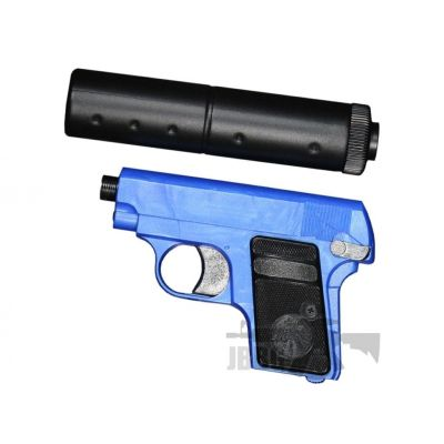 HG107 AIRSOFT PISTOL WITH SILENCER