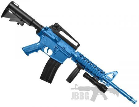 8909A M4 RIS SPRING BB AIRSOFT GUN