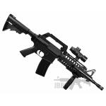 well mr733 spring rifle black