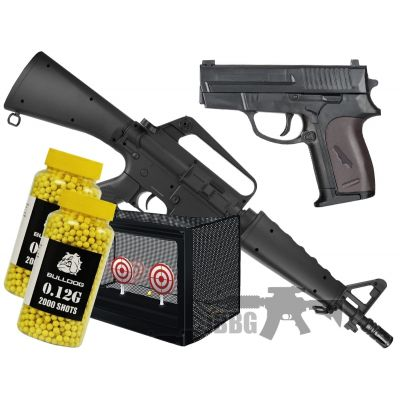 003 airsoft bb gun bundle sets