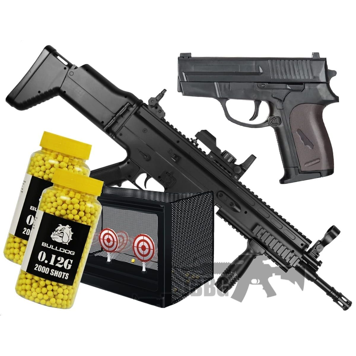 001 airsoft bb gun bundle sets