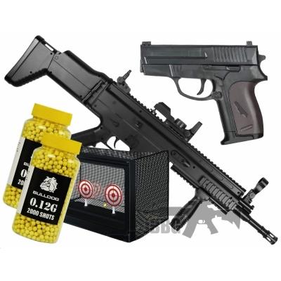 001 airsoft bb gun bundle sets