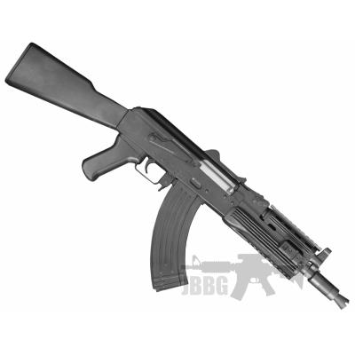 src ak47c airsoft gun black