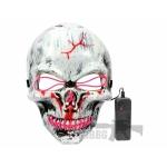 led purge mask skull