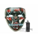 led purge mask blue